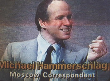 journalist Michael Hammerschlag on WSBE-TV