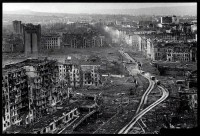 Grozny, Chechnya destroyed 1995